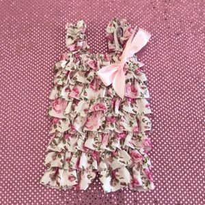 Other - Baby Girl Floral Romper Outfit